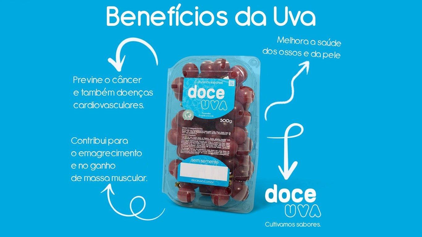 Benefícios da uva na saúde